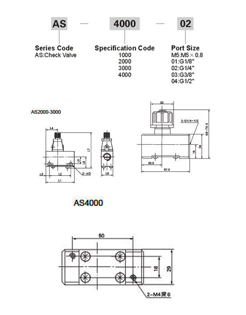 AS_Series_Check_Valve_How_To_Order_Spec