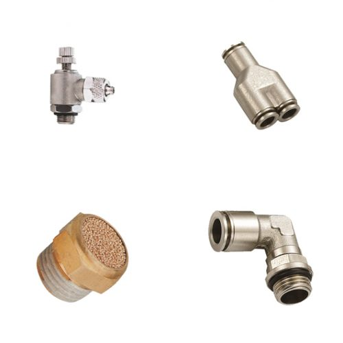 Metal Push in Fittings